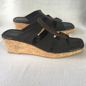Donald J. Pliner Clare Cork Wedges
